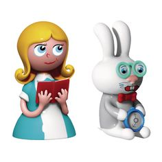 Alessi Alice & The White Rabbit by LPWK and Massimo Giacon