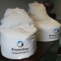 Logolla Säkkituolit - PromoStar.fi