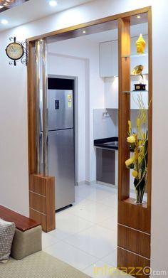 Kitchen Cupboard Designs, Kitchen Room Design, Home Room Design, Modern Kitchen Design, Interior Design Kitchen, House Design, Living Room Partition Design, Pooja Room Door Design, Room Partition Designs