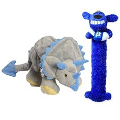 Triceratops  Multipet Loofa Hanukkah Dog Toy Set * Want to know more, click on the image.