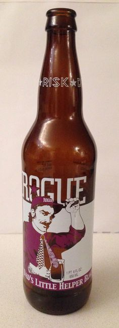 Rogue Ales (USA) Dad's Little Helper Black IPA