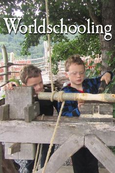 "Families who identify with being ""worldschoolers"" employ different learning styles. Worldschooling is educational traveling. Travel Articles, Travel Info, Travel Guides, Travel Tips, Kids Learning, Learning Styles, Learning Resources, Travel With Kids, Family Travel"