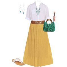 """Plus size outfit"" by penny-martin on Polyvore. This is more my style."