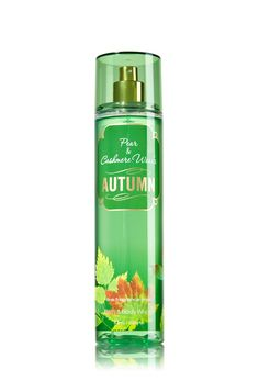 Autumn Fine Fragrance Mist Top Notes: White Nectarine, Granny Smith Apple Mid Notes: Bartlett Pear, Creamy Fig, Wild Jasmine Dry Notes: Cashmere Woods, Sheer Amber, Exotic Sandalwood- Signature Collection - Bath & Body Works