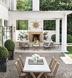 An outdoor space to die for