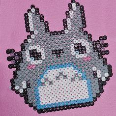 Totoro of perler beads
