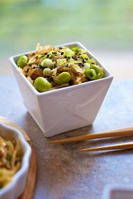 Spaghetti Squash Sesame Noodles Recipe: Vegan, Gluten Free Paleo Diet on FamilyFreshCookin...  MarlaMeridith.com