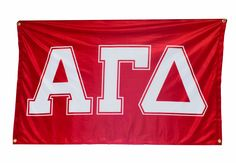 Show of your AGD pride with this bold Spirit Flag!  #alphagammadelta #agd #spirit