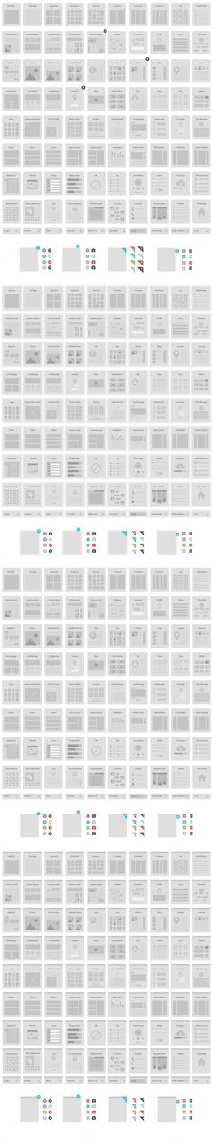 Website Wireframe Kit - Web Elements - 2. If you like UX, design, or design thinking, check out theuxblog.com
