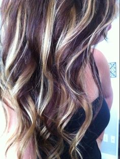 Want to dye my hair like this. Reddish brown with caramel hi-lites