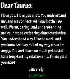 Taurus dating en Stenbocken man