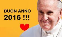 60 frasi di Papa Francesco che porteremo con noi nel 2016!
