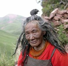 """Ani Ma ~ 110 year old Tibetan Yogini, Himalayan Mountain Hermit, Nun. It just goes to show you the benefits of living close to Nature which is God's design. She doesn't look a day over an active and healthy 80. ~ M.S.M. Gish ~ Miks' Pics """"People ll"""" board @ http://www.pinterest.com/msmgish/people-ll/"""