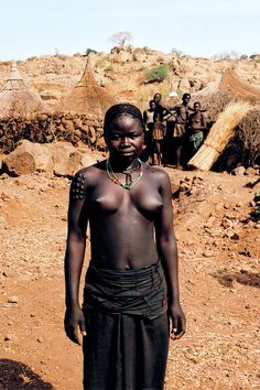 Nuba woman, South Sudan