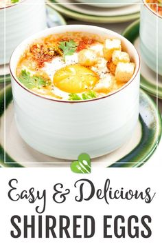 With an easy cooking method, these delicious Shirred Eggs can be made less than 25 minutes! Learn how to make this crowd-pleaser to wow your family and friends! #sidedish #eggrecipes #shirredeggs #baked #eggs #easy #simplerecipes #healthy #healthyrecipes101 Best Egg Recipes, Healthy Egg Recipes, Best Appetizer Recipes, Best Appetizers, Light Recipes, Side Dish Recipes, Shirred Eggs Recipe, Ways To Cook Eggs, Best Oven