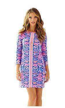 80aa4e04ebd0 Lilly Pulitzer Marlowe Women s Dress Iris Werk It Engineered - Size  Large