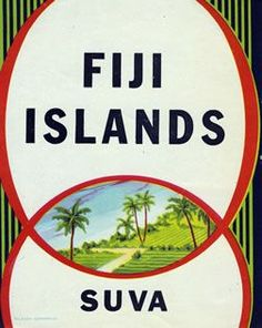 Fiji Islands - Suva by Artist Unknown Maybe In Another Life, Visit Fiji, The Beautiful South, Fiji Islands, Love Posters, Cruise Port, Vintage Travel Posters, Vintage Pictures, Australia Travel