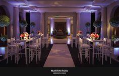 :: Cumpleaños de XV : Martín Roig ambientaciones :en Four Seasons Hotel Buenos Aires ::