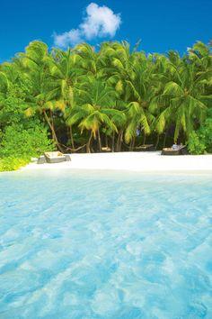 Baros, Maldives, beach view