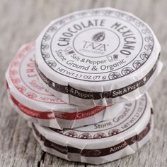 taza chocolate - mexican-style stone ground organic and direct trade PD