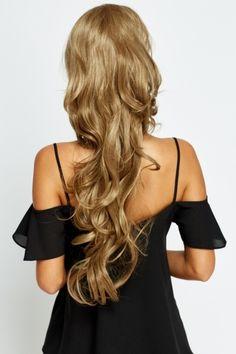 Layered Wavy Ponytail Hair Piece