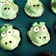 Bad Piggies Cupcakes - Angry Bird Cupcakes