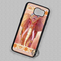 Indian Elephant Henna Animal - Samsung Galaxy S7 S6 S5 Note 7 Cases & Covers