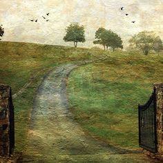 """Walk Along the Horizon"" | by Distressed Jewell. Photo manipulation."