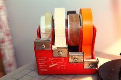 Tape Dispenser: it's only a tape dispenser, but I love it.