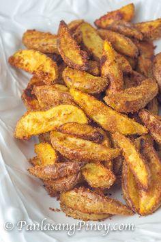 Crispy Yukon Gold Potato Wedges                              …