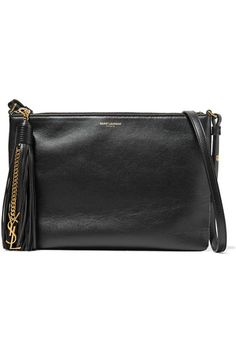Black leather (Calf) Zip fastening along top Comes with dust bag Weighs approximately 0.9lbs/ 0.4kg Made in Italy