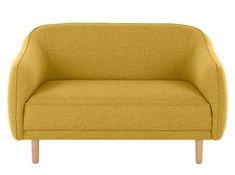 Sofá de 2plazas Lottie, naranja Toscana | MADE.com Sofas, Retro Sofa, Pewter Grey, Modular Furniture, Toscana, Black Wood, Plaza, Blue Velvet, Sofa Design