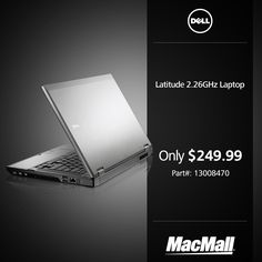Get a great deal on a #Dell Latitude 2.26GHz notebook at MacMall.