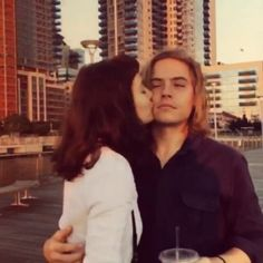 the cutest couple ever @dylansprouse @daynafrazer