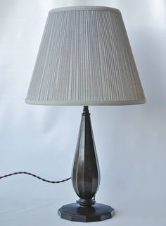 Table Lamp by Just Andersen | From a unique collection of antique and modern table lamps at https://www.1stdibs.com/furniture/lighting/table-lamps/