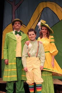 Mr. and Mrs. Mayor from Seussical Jr.