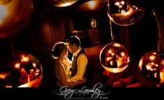 Night shoot at wedding by Greg Lumley.  Creative wedding photography.