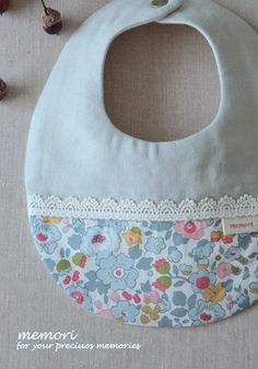 "baby bib【LIBERTY""Betsy""mint】 - memori ~for kids & baby~"