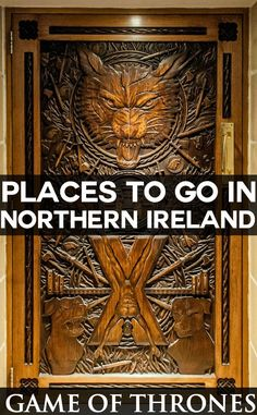 Places to go in Northern Ireland to discover Game of Thrones country European Travel Tips, European Vacation, Dublin, Ireland Destinations, Travel Destinations, Game Of Thrones, Old Doors, Roadtrip, Northern Ireland