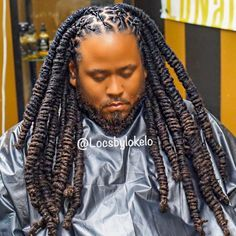 Dreadlock hairstyles for men - Men's Hairstyle Mens Dreadlock Styles, Dreadlock Hairstyles For Men, Mens Medium Length Hairstyles, New Natural Hairstyles, Dreads Styles, Braid Styles, Natural Hair Styles, Long Hair Styles, Hairstyles Men