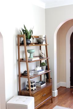 West Elm shelving unit. Need one of these for the wall next to the front door.
