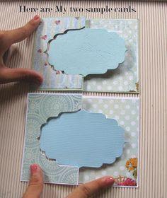 Crafters Corner : Flip-Card Tutorial using partial die-cutting!
