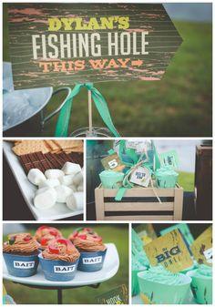Fishing Themed Birthday Party