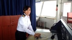 Our first female Filipina officers
