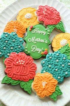 Mother's Day Cookies ♡