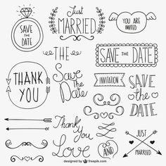 Discover thousands of images about Lettering Doodles, Wedding Ornament, Doodle Lettering, Doodle Drawings, Bullet Journal Inspiration, Clipart, Vector Free, Vector Graphics, How To Draw Hands