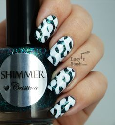 Lucy's Stash - Patterned nails, click through for TUTORIAL