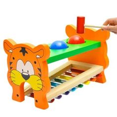 Baby Kid Educational 8 tone Xylophone Musical Toys Wooden Developmental Toys ZV