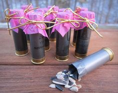 Pack of 10 Shotgun Shell Bird Seed or Confetti by ReadyAimCraft, $8.50