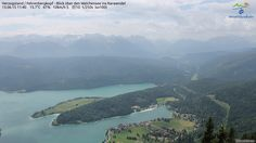 Webcam Walchensee Herzogstand Innsbruck, Bavaria, River, Outdoor, Bayern, Hang Gliding, Ski, Alps, Weather